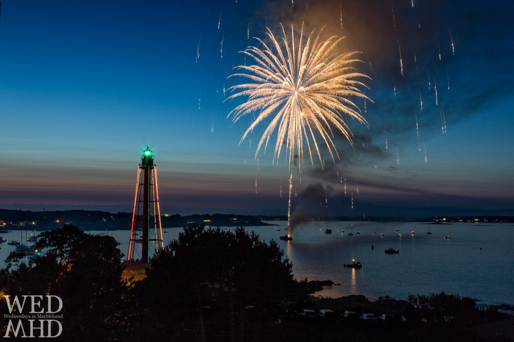 Marblehead Light on the Fourth of July, Photo Credit: Eyal Oren